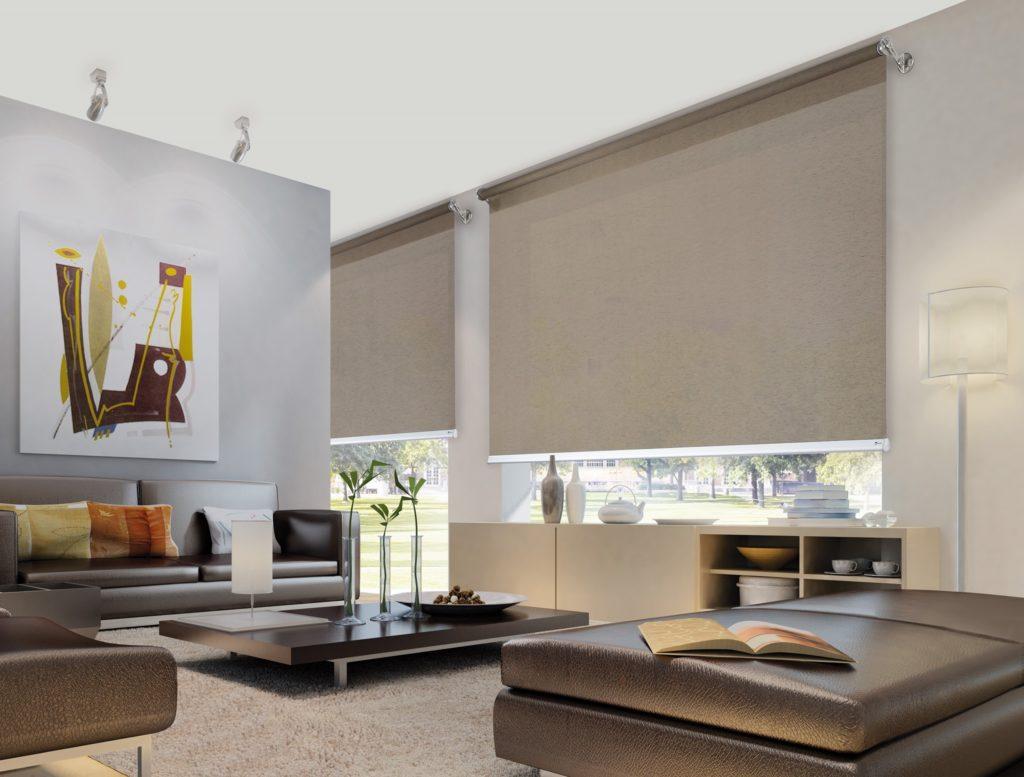 Tende tecniche a rullo veneziane plissettate e verticali for Shiny home tende a rullo